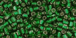 TH-11-36 Silver-Lined Green Emerald (per 10 gram)