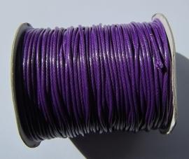 Waxkoord 2 mm Purple W010 (per meter)