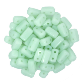 CzechMates Bricks Opaque Pale Jade (per 28)