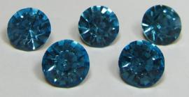 Glass Chaton SS39 Aquamarine (per 5)