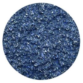 Polaris Cabochon Coin Flat 35 mm Goldstein Cobalt Blue (per 1)