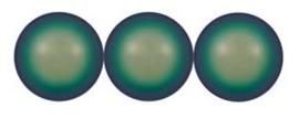 Swarovski Pearls 10 mm Scarabaeus Green (per 5)
