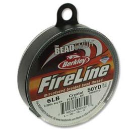 Fireline Crystal 0,20 mm 6 LB (per rol van 45 meter)