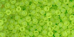 TR-11-4F Transparent-Frosted Lime Green (per 10 gram)