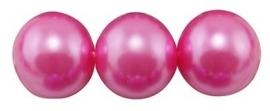 Glasparel Hot Pink 3 mm B54 (per 65 cm streng)