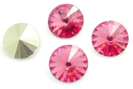 Resin Rivoli 10 mm Rose (per 4)