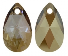 Swarovski Druppel 6106 22 mm Crystal Bronze Shade (per stuk)