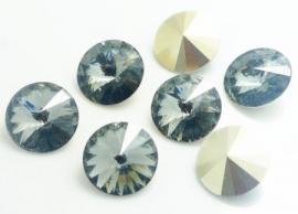 Resin Rivoli 16 mm Gray (per 2)