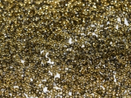 Charlotte Beads 15/0 Crystal Amber (per 5 gram)