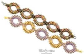 Patroon Armband Rippling Ovals (Gratis Patroon)
