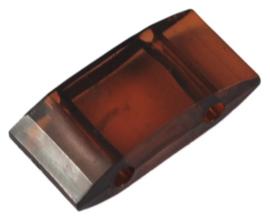 Verdeler Acryl Saddle Brown 17 x 9 x 5 mm (per 10)