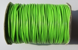 Waxed Cord 1,5 mm Bright Green W083 (1 meter)