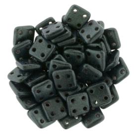 CzechMates QuadraTiles Metallic Suede - Dark Forest (per 5 gram)