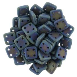 CzechMates QuadraTiles Matte Iris Blue (per 5 gram)