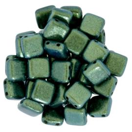 CzechMates Tiles Polychrome - Aqua Teal (per 10)