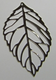 Pendant Filligree Leaf B1340 (per 2)