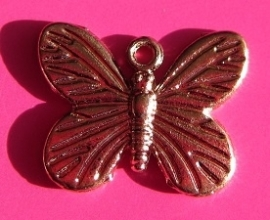 Charm Butterfly B1220 R (per 2)