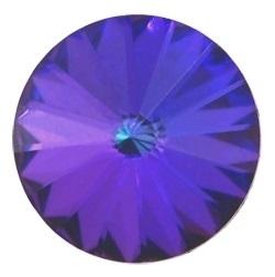 Swarovski Rivoli 12 mm Crystal Heliotrope (per stuk)