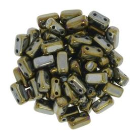 CzechMates Bricks Iris - Brown (per 12)