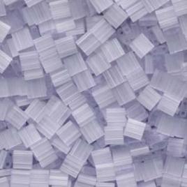TL-2563 Silk Pale Light Lavender Miyuki Tila Bead (per 5 gram)