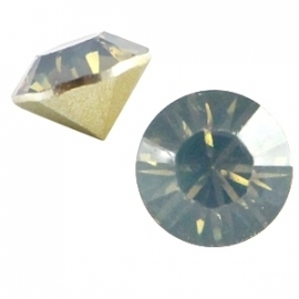 Resin Chaton SS29 Light Colorado Topaz Opal (per 10)