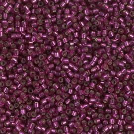 DB1342 Dyed Silverlined Raspberry (per 5 gram)
