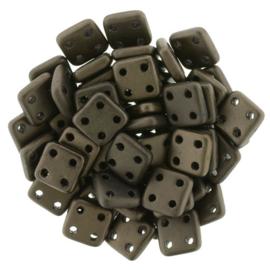 CzechMates QuadraTiles Matte - Dark Bronze (per 5 gram)