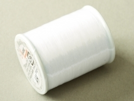 Nozue Sonoko Beading Thread White (per 100 meter)
