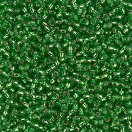 11-0015 Silverlined Light Green (10 g.)