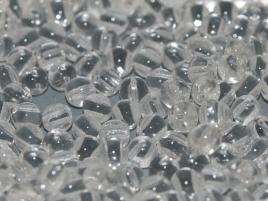 RounDuo® Beads 5 mm Crystal (per 26)