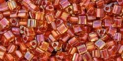 TG-11-951 Inside-Color  Jonquil/Brick Red Lined (per 10 gram)