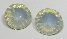 Resin Rivoli 14 mm Crystal Opal (per 2)