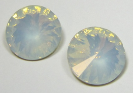 Resin Rivoli 16 mm Crystal Opal (per 2)