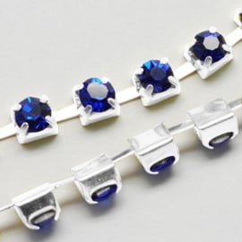 Cup Chain SS12 3 mm Royal Blue (meter)