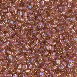 TR10-1166 Spkl Rose Lined Topaz Luster (per 10 gram)
