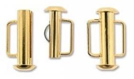 Slide Lock Clasp 16,5 mm S720 G (per 1)