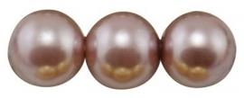 Glasparel Rosy Brown 8 mm B27 (per 80 cm streng)