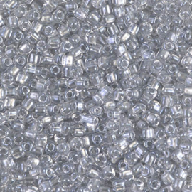 TR10-1105 Spkl Pale Gray Lined Crystal (10 g.)