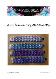 Patroon Armband Crystal Waltz (PDF-Bestand)