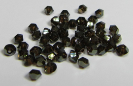 Swarovski Bicone 3 mm Crystal Bronze Shade 2x (per 50)
