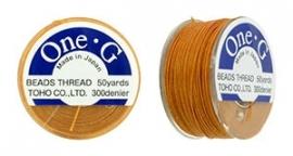 Toho One-G Draad Orange (per rol van 45 meter)