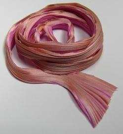 Shibori Zijde Flamingo (per 20 cm)