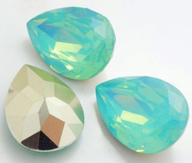Resin Druppel 13 x 18 mm Pacific Opal (per stuk)