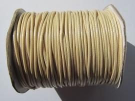 Waxkoord 2 mm Linen W028 (per meter)
