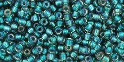 TR-11-270 Inside-Color Crystal/Prairie Green Lined (10 g.)