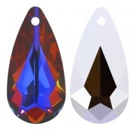 Swarovski Drop 6100 24 x 12 mm Crystal Volcano (per 1)