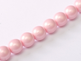 Glasparel Alabaster Pastel Rose 3 mm (per 44 cm streng)