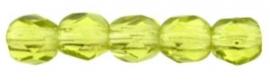 Facet 2,5 mm Olivine (per 50)