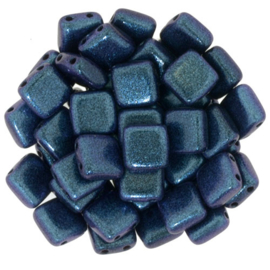 CzechMates Tiles Polychrome - Orchid Aqua (per 10)