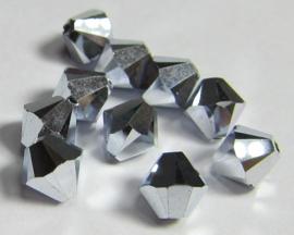 Swarovski Bicone 6 mm Crystal CAL 2x (per 10)
